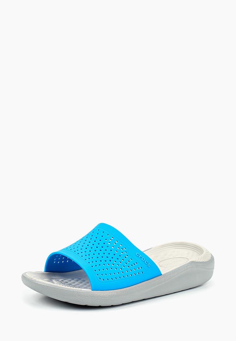 Женская резиновая обувь Crocs (Крокс) 205183-4D7