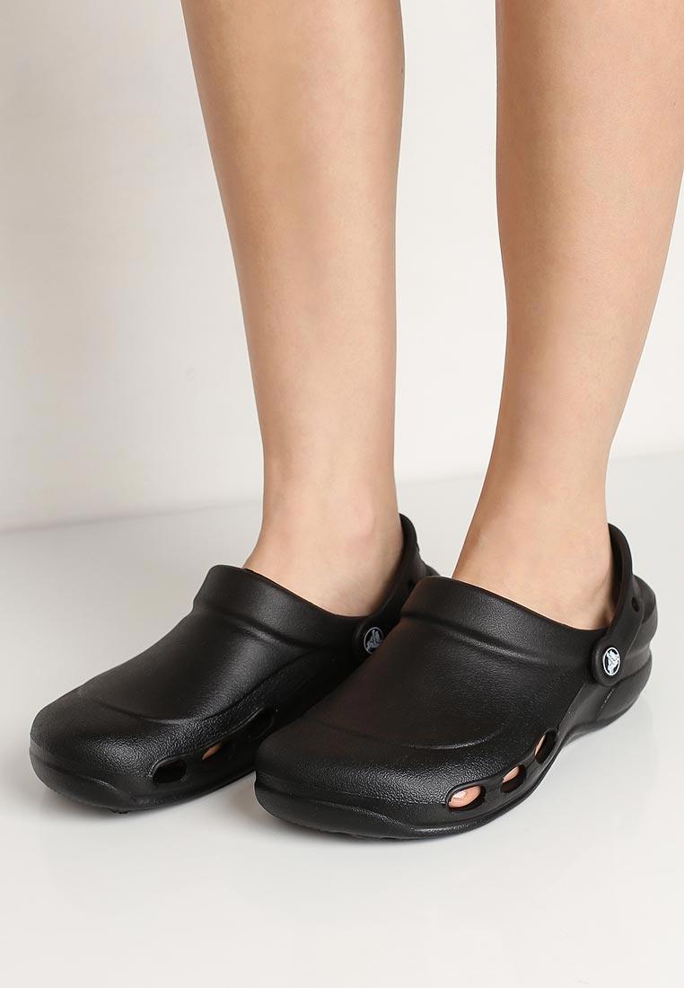 Женская резиновая обувь Crocs (Крокс) 10074-001