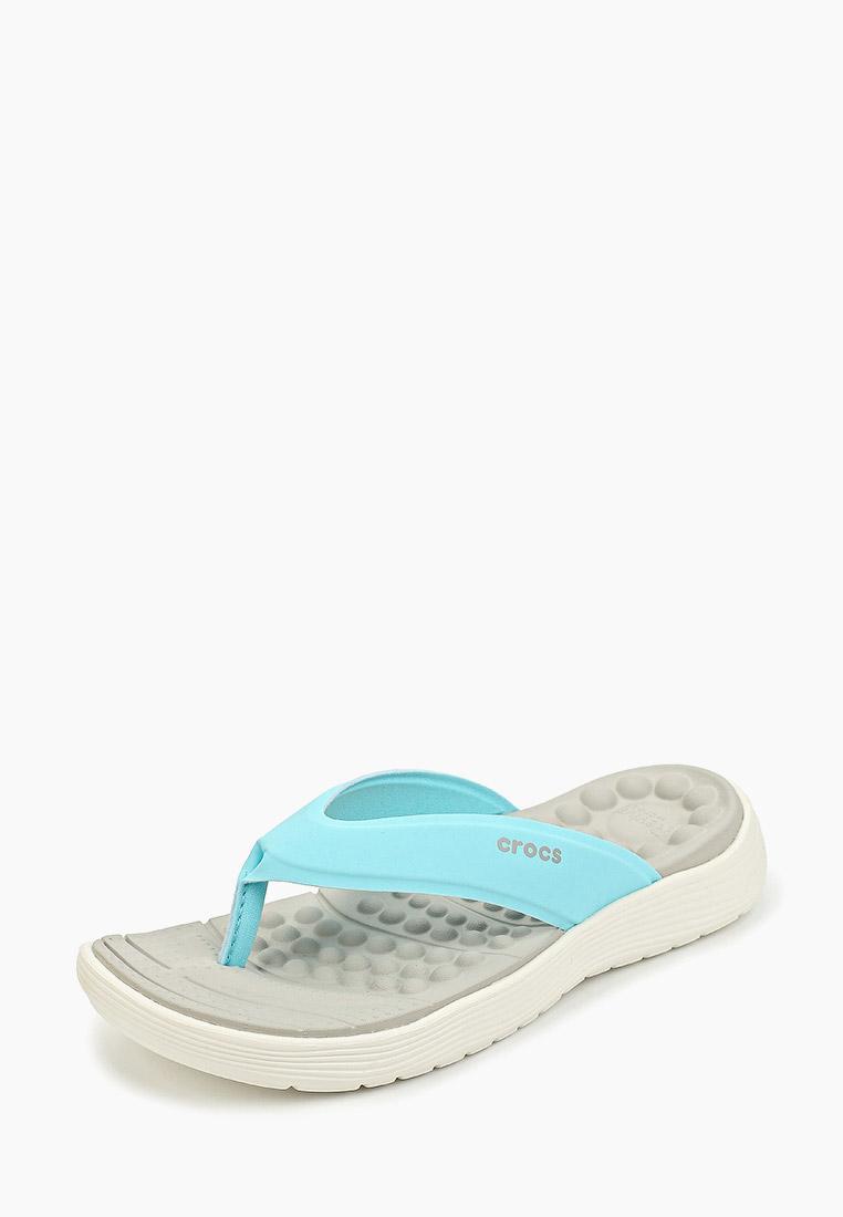 Женские сланцы Crocs (Крокс) 205473