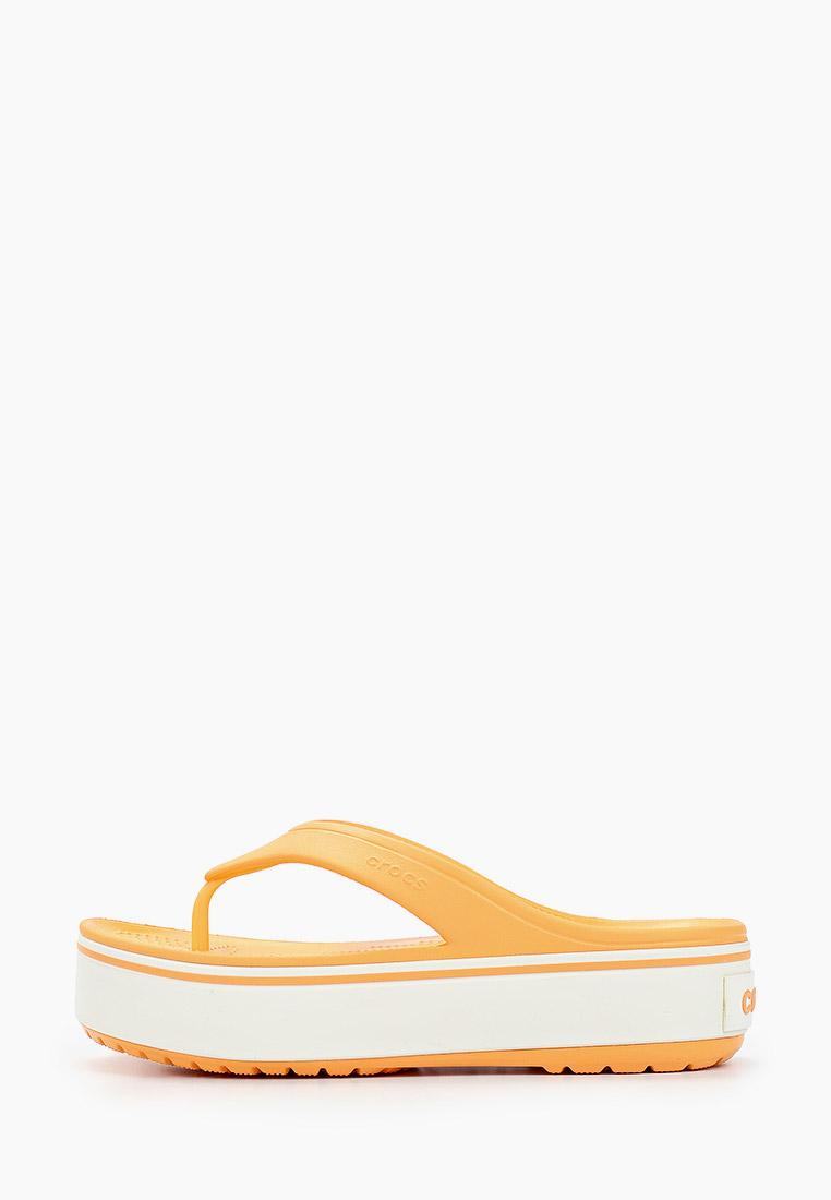 Женские сланцы Crocs (Крокс) 205681