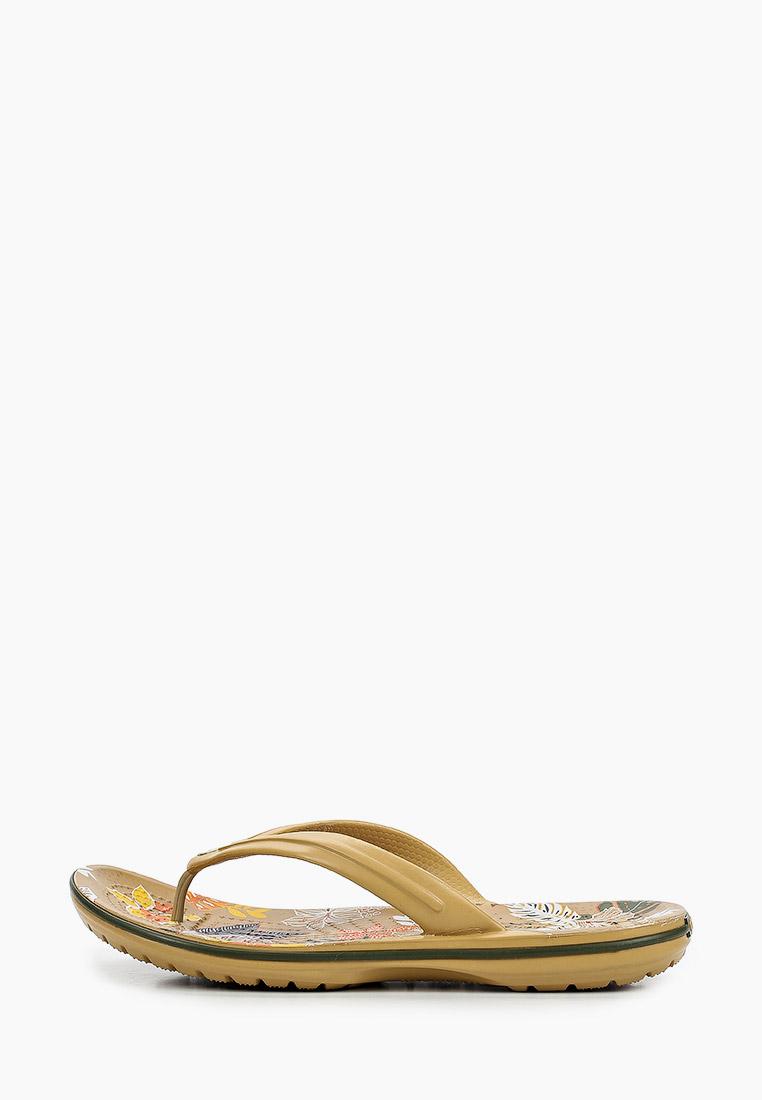 Женские сланцы Crocs (Крокс) 206389