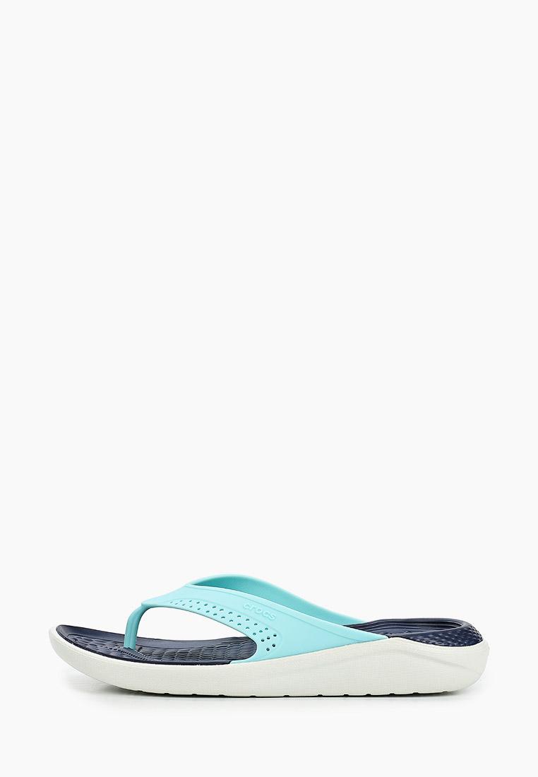 Женские сланцы Crocs (Крокс) 205182