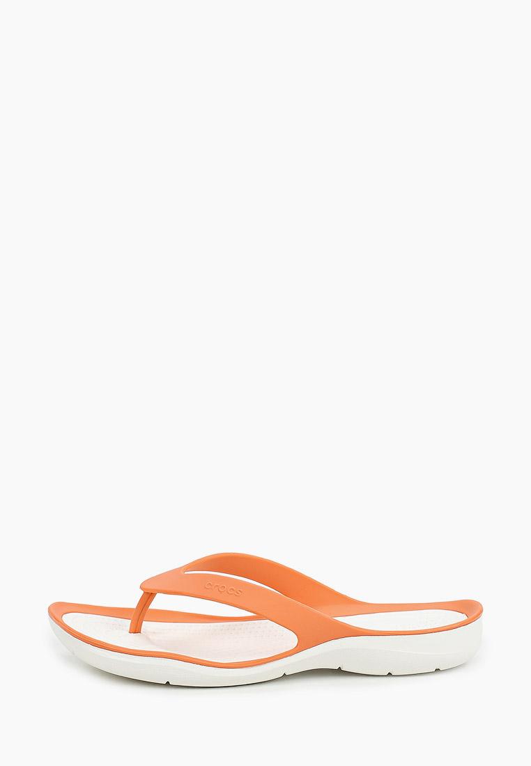 Женские сланцы Crocs (Крокс) 204974