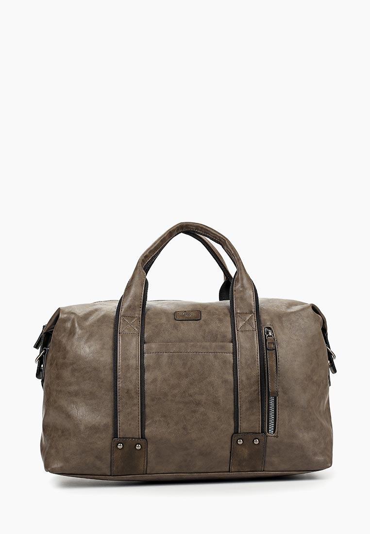 Дорожная сумка David Jones (Дэвид Джонс) CM3960_кофе