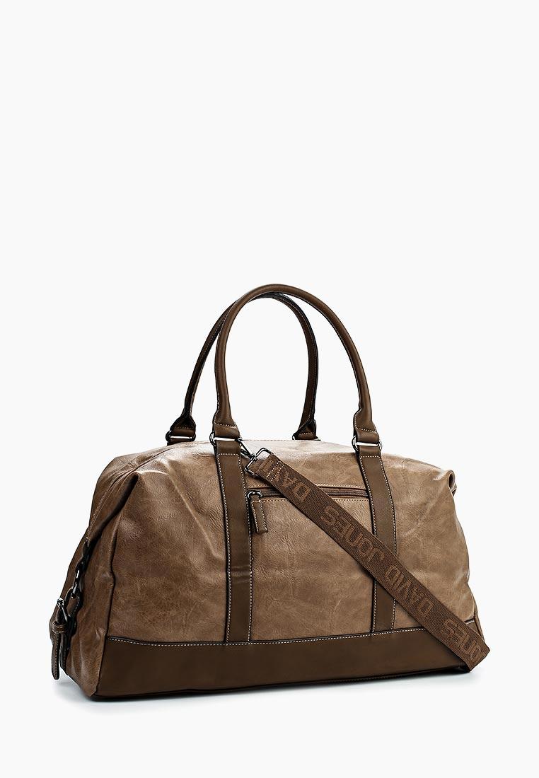 Дорожная сумка David Jones (Дэвид Джонс) СМ3258_кэмел: изображение 6