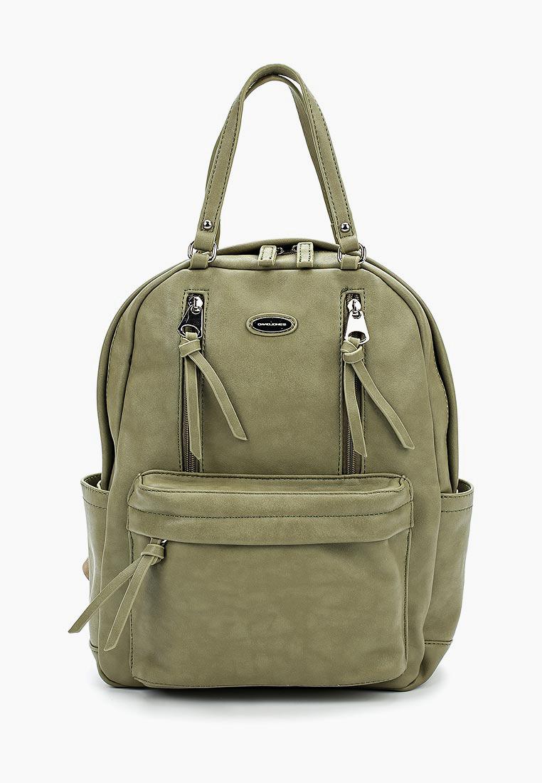 Городской рюкзак David Jones (Дэвид Джонс) CM3773_зеленый: изображение 1