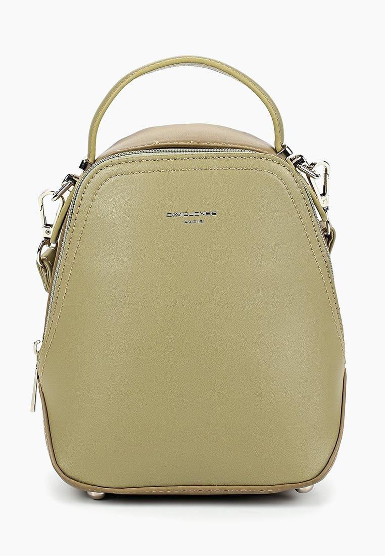 Городской рюкзак David Jones (Дэвид Джонс) 5705-2_зеленый
