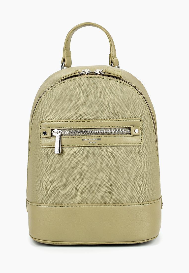 Городской рюкзак David Jones (Дэвид Джонс) 5731-2_зеленый