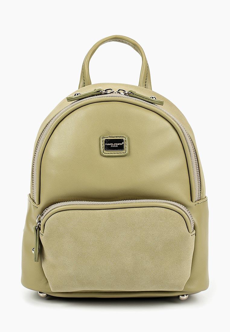 Городской рюкзак David Jones (Дэвид Джонс) СМ3735_зеленый