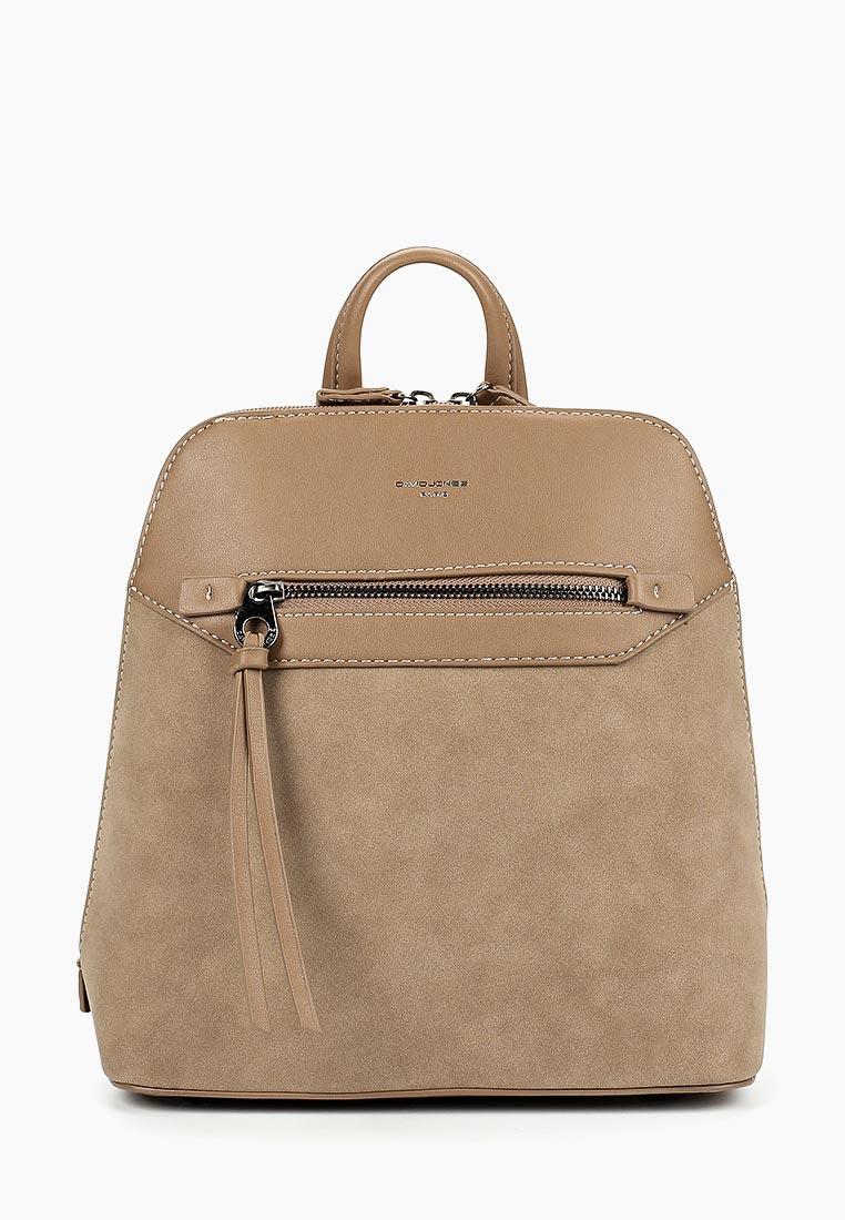 Городской рюкзак David Jones (Дэвид Джонс) 5800-2_кэмел