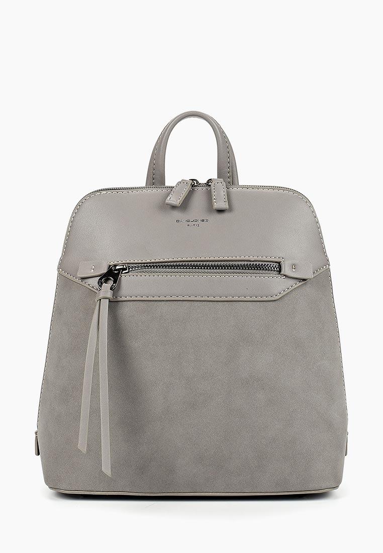 Городской рюкзак David Jones (Дэвид Джонс) 5800-2_серый