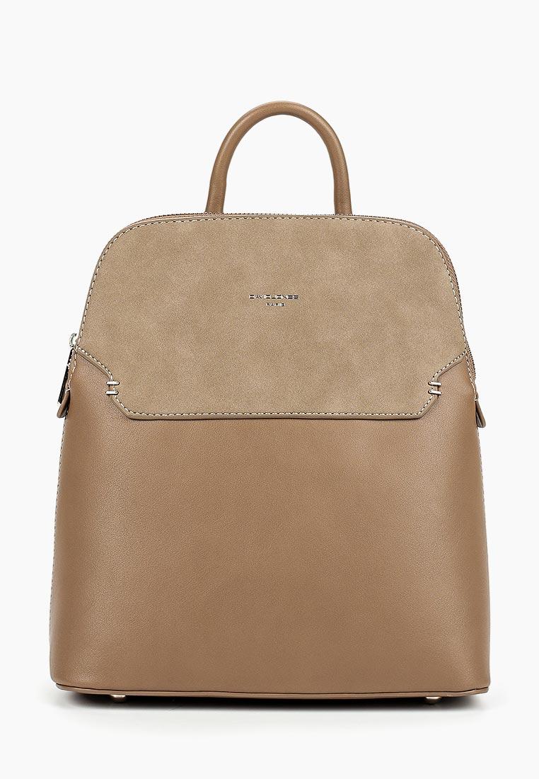Городской рюкзак David Jones (Дэвид Джонс) 5802-1_кэмел