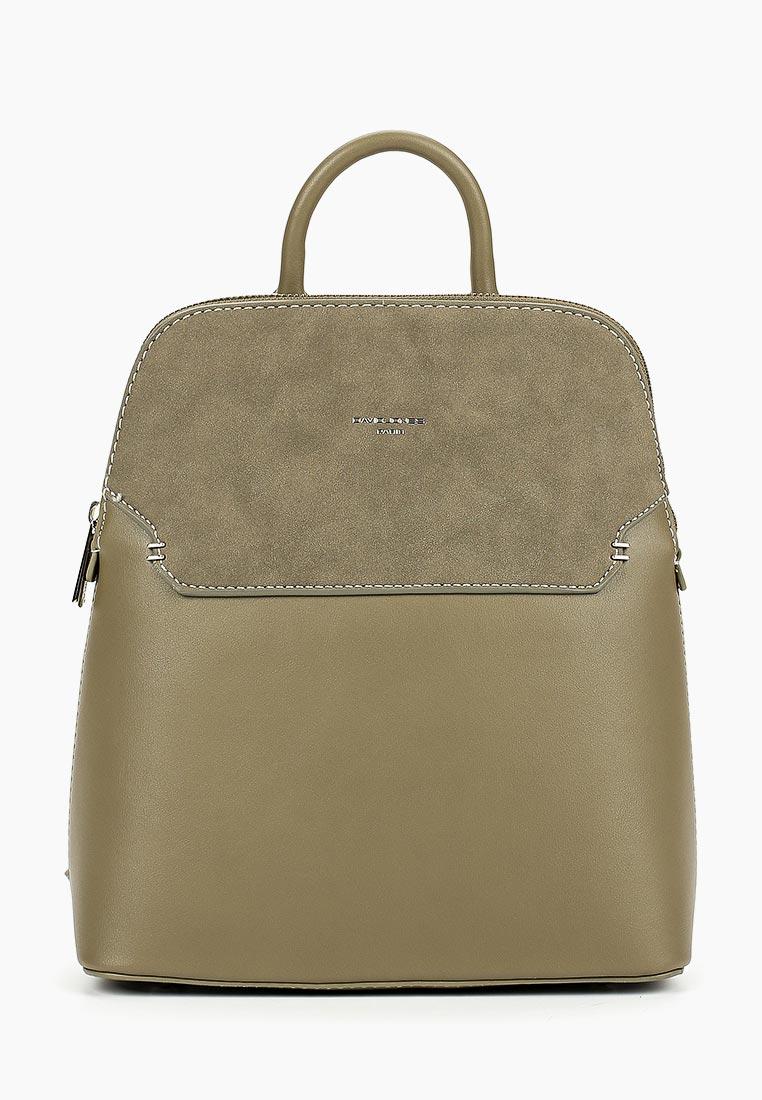 Городской рюкзак David Jones (Дэвид Джонс) 5802-1_зеленый