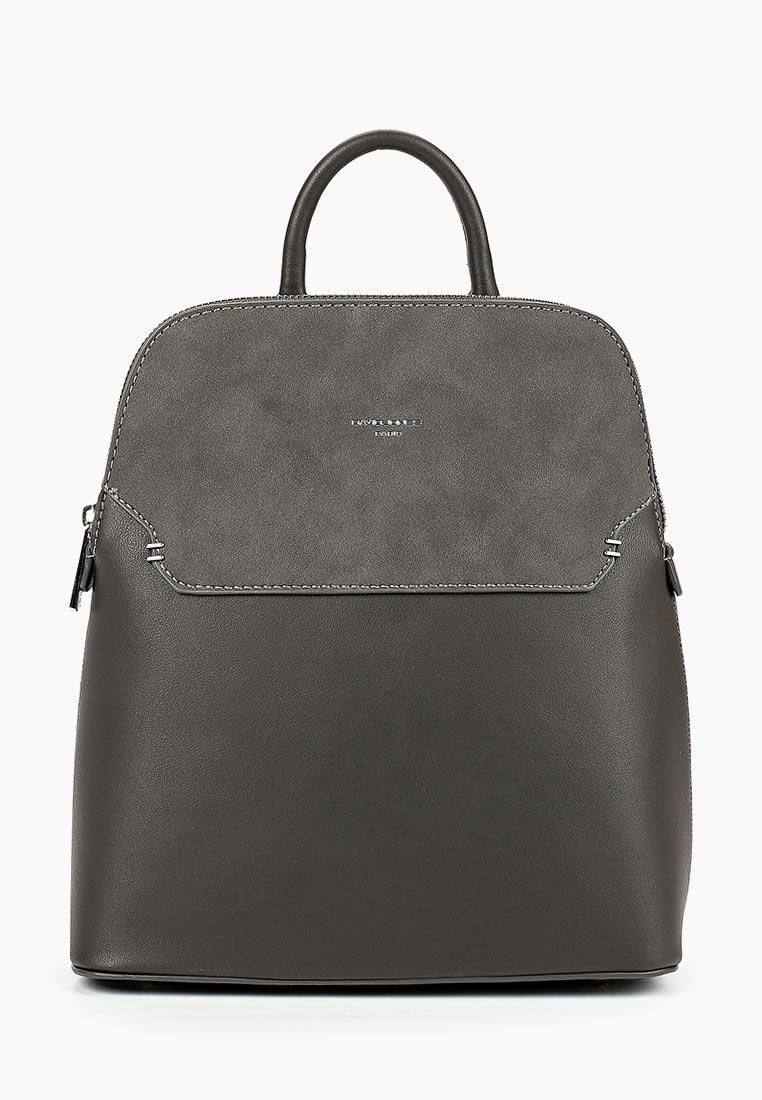 Городской рюкзак David Jones (Дэвид Джонс) 5802-1_серый