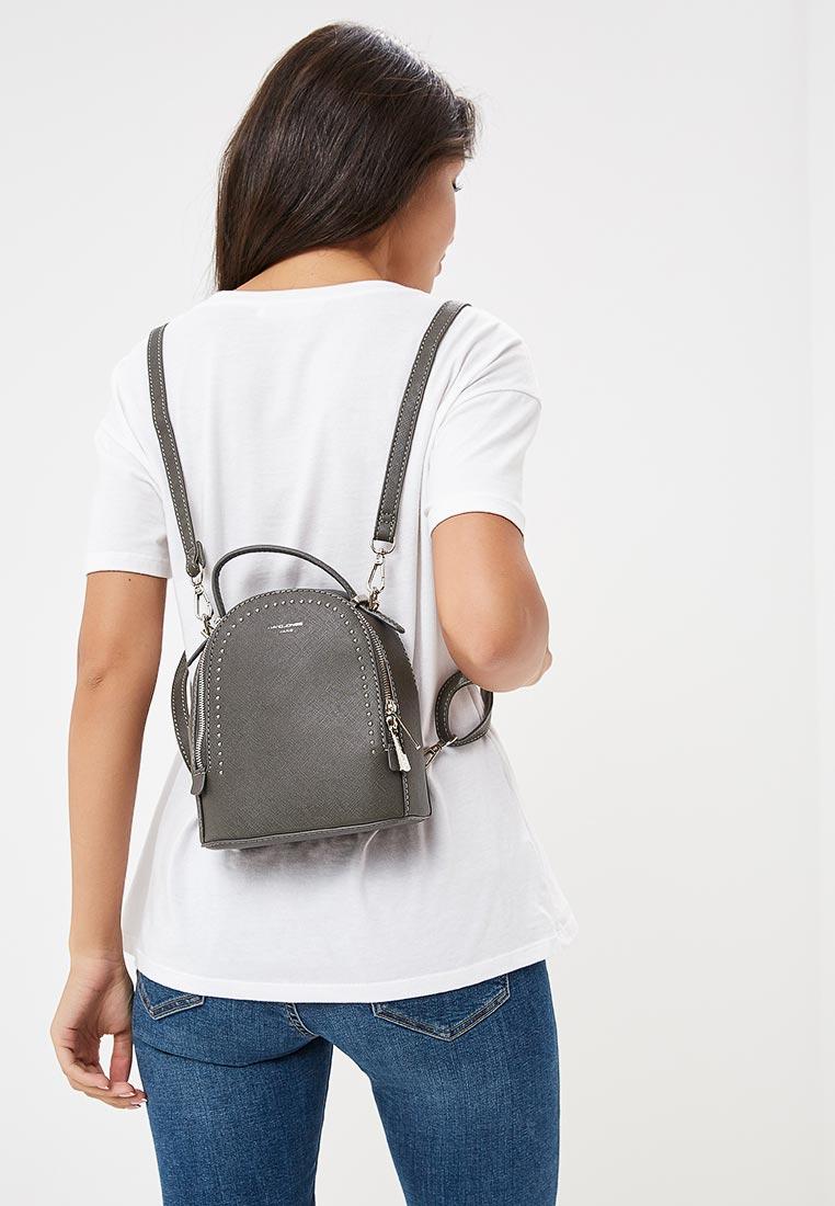 Городской рюкзак David Jones (Дэвид Джонс) 5806-2_серый
