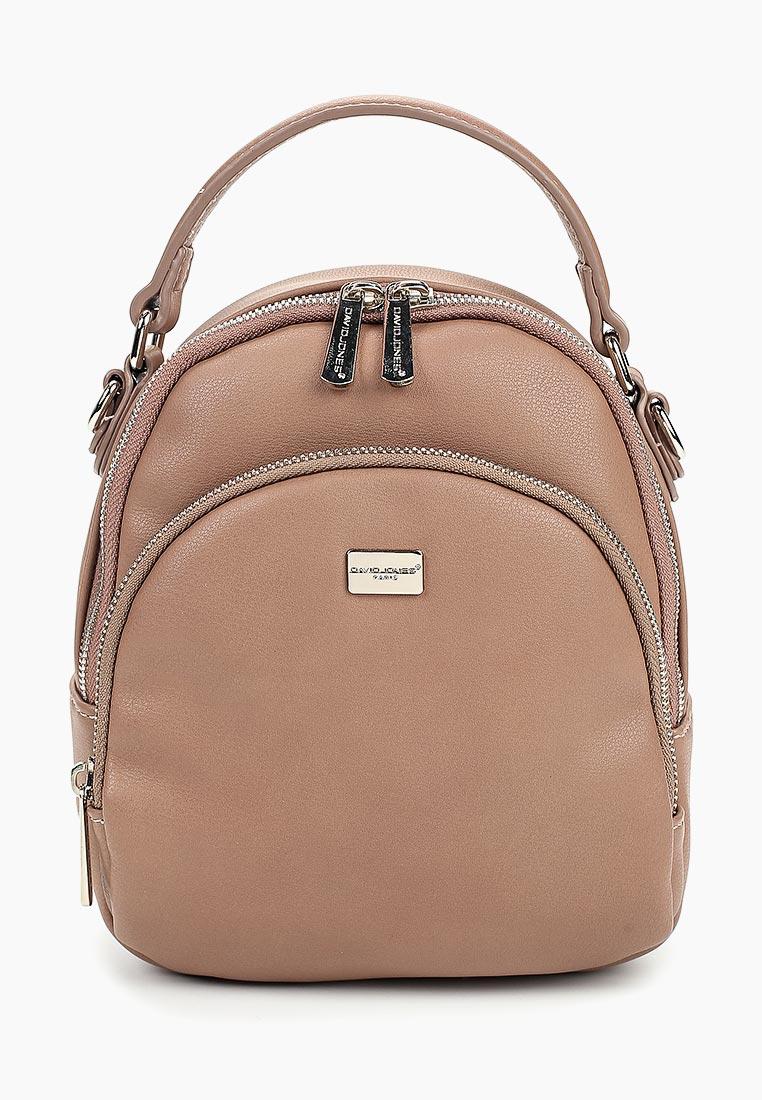Городской рюкзак David Jones (Дэвид Джонс) 5814-2_розовый