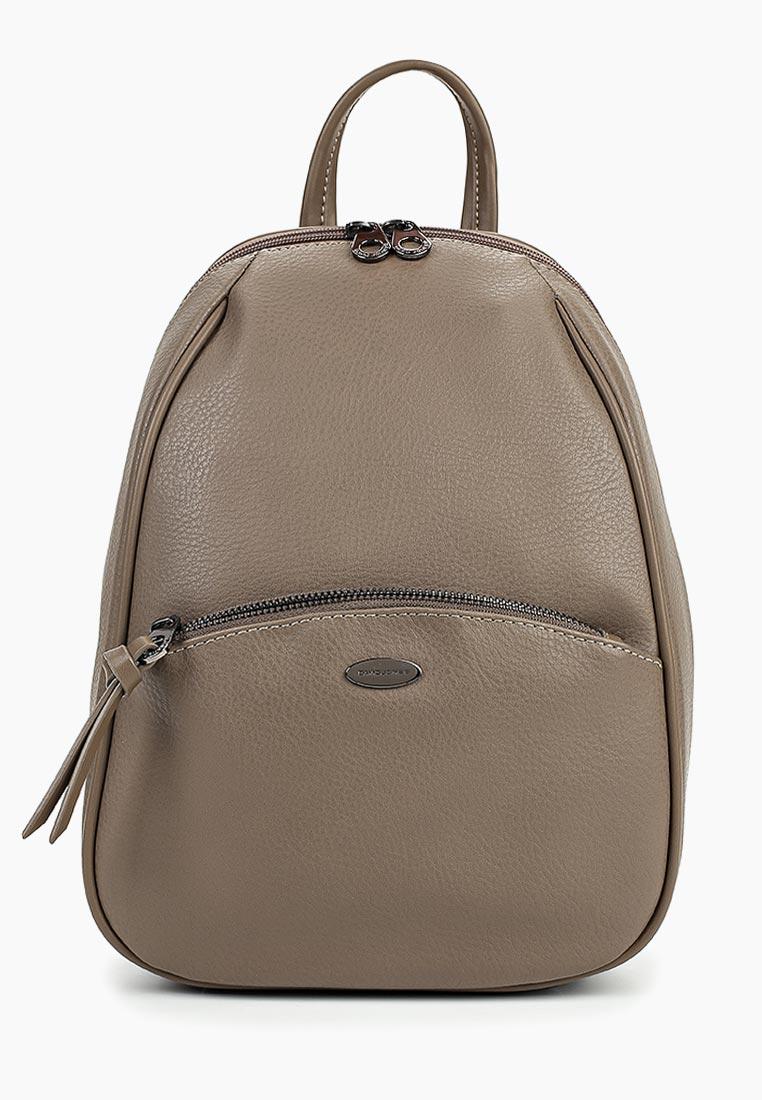 Городской рюкзак David Jones (Дэвид Джонс) CM3906_кофе