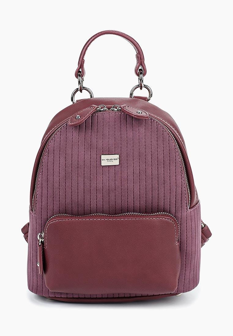 Городской рюкзак David Jones (Дэвид Джонс) 5829-2_бордовый