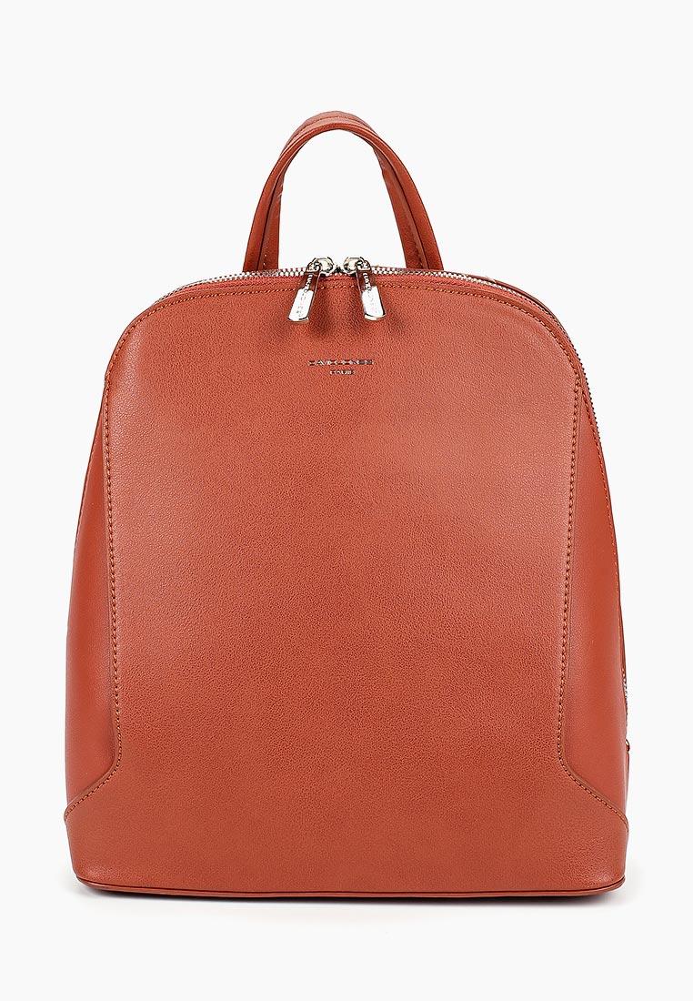 Городской рюкзак David Jones (Дэвид Джонс) 5830-3_оранжевый