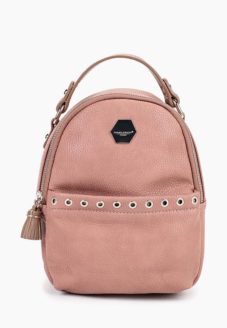 Городской рюкзак David Jones (Дэвид Джонс) CM3921_розовый