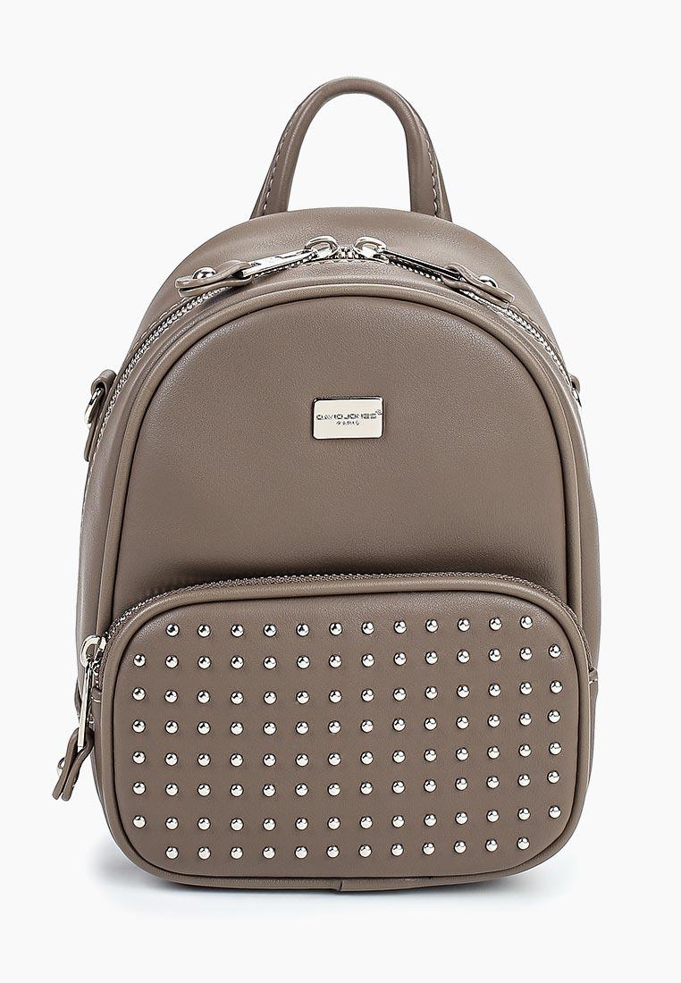 Городской рюкзак David Jones (Дэвид Джонс) CM3936_кофе