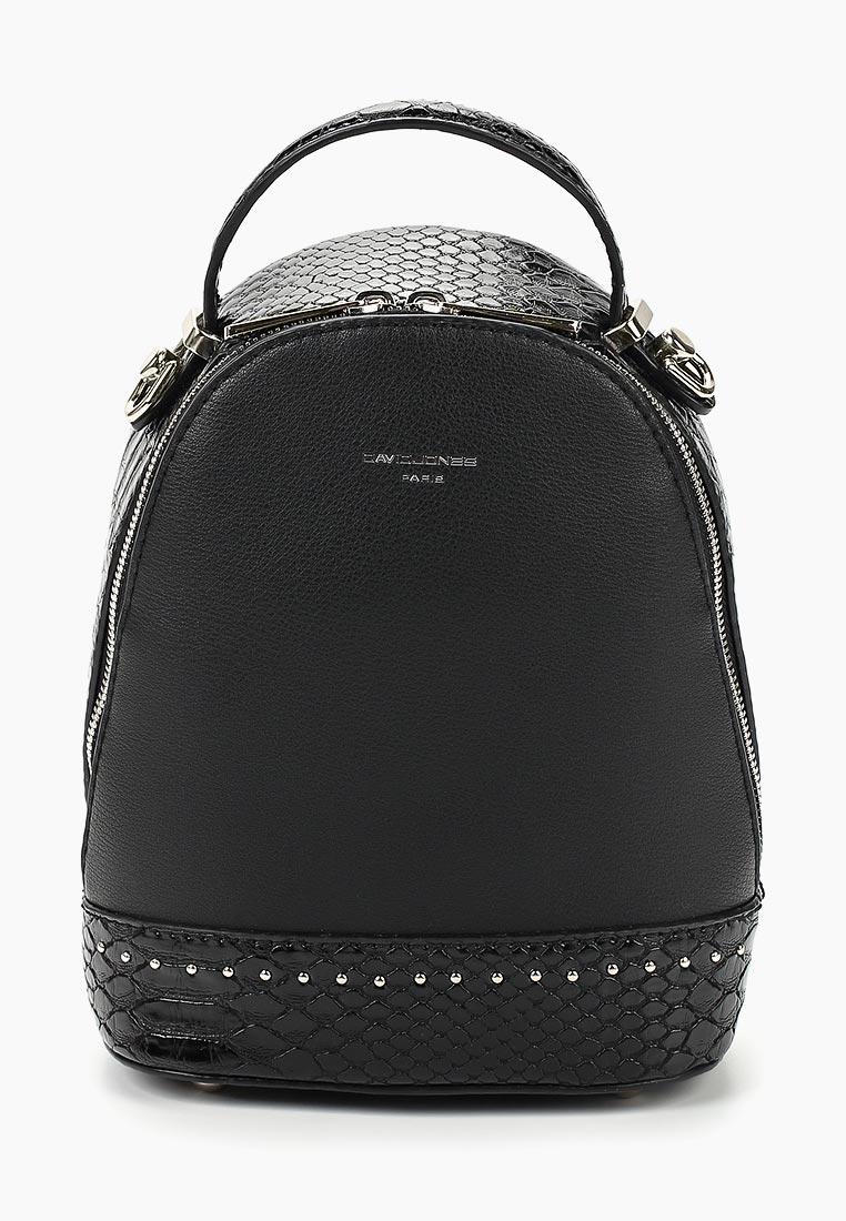 Городской рюкзак David Jones (Дэвид Джонс) 5825-2_черный