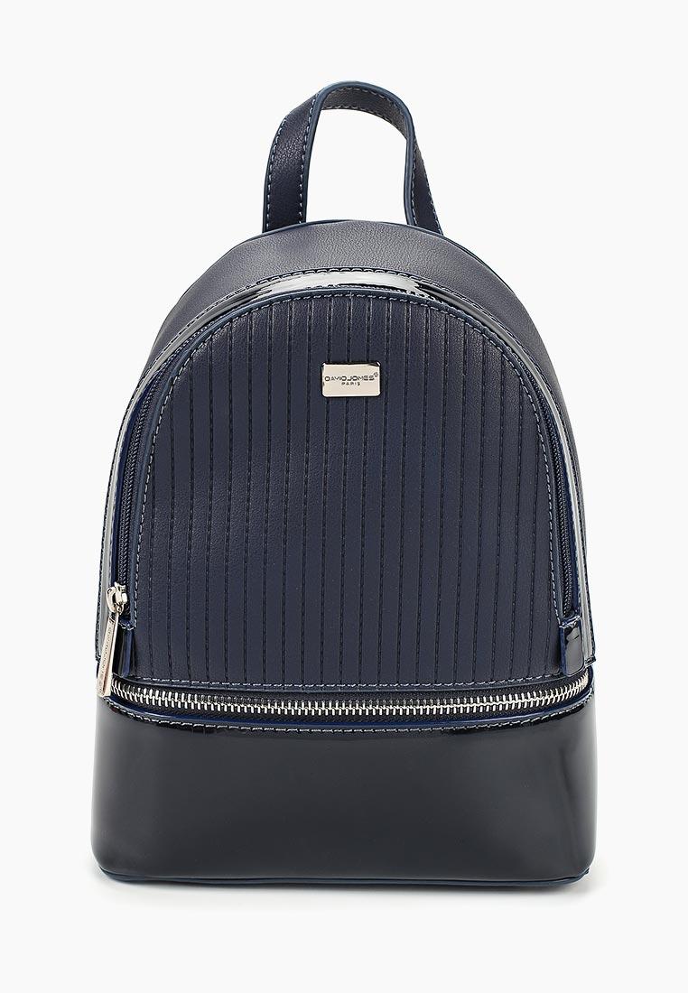 Городской рюкзак David Jones (Дэвид Джонс) 5827-1_синий