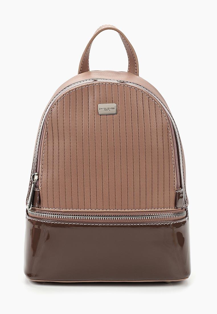 Городской рюкзак David Jones (Дэвид Джонс) 5827-1_розовый