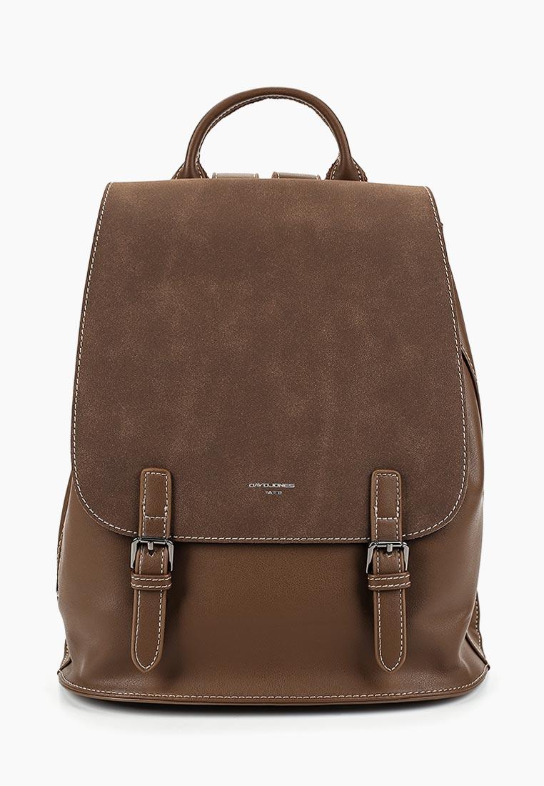 Городской рюкзак David Jones (Дэвид Джонс) CM3955_т.-коричневый