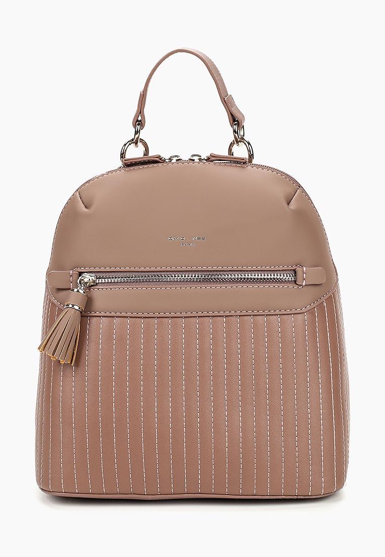 Городской рюкзак David Jones (Дэвид Джонс) 5823-1_розовый