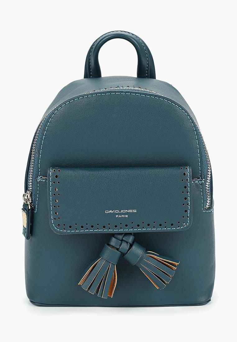 Городской рюкзак David Jones (Дэвид Джонс) 5804-3_бирюзовый