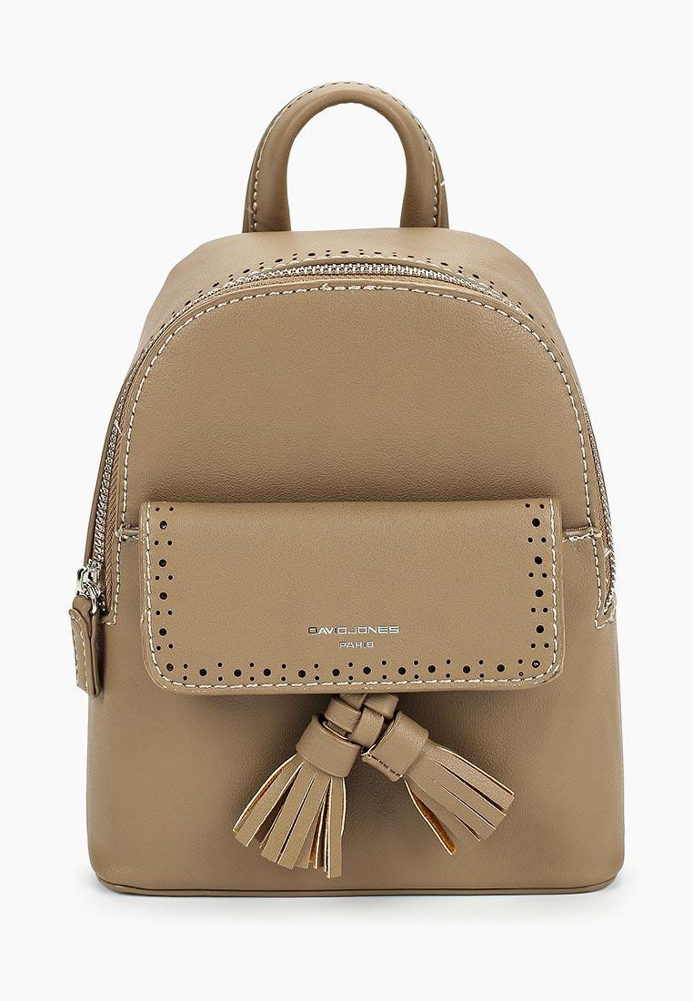 Городской рюкзак David Jones (Дэвид Джонс) 5804-3_зеленый