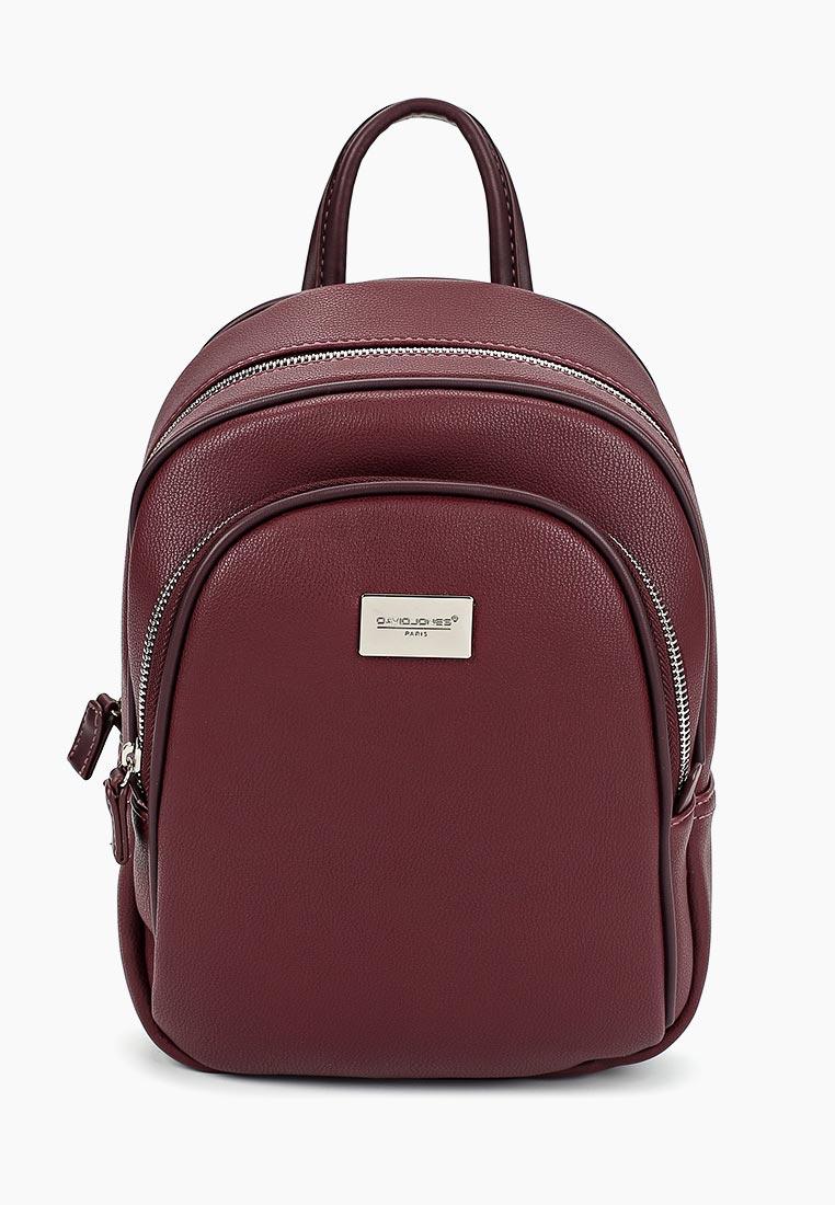 Городской рюкзак David Jones (Дэвид Джонс) CM3933_бордовый