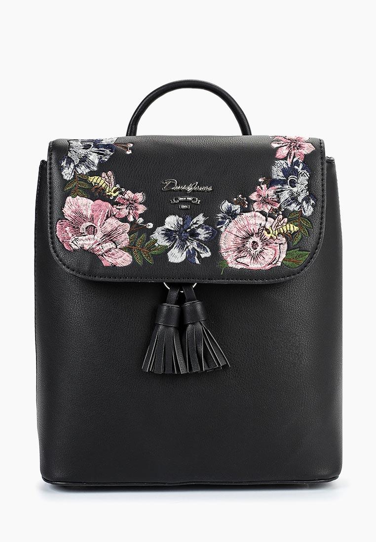 Городской рюкзак David Jones (Дэвид Джонс) 5862-3_черный