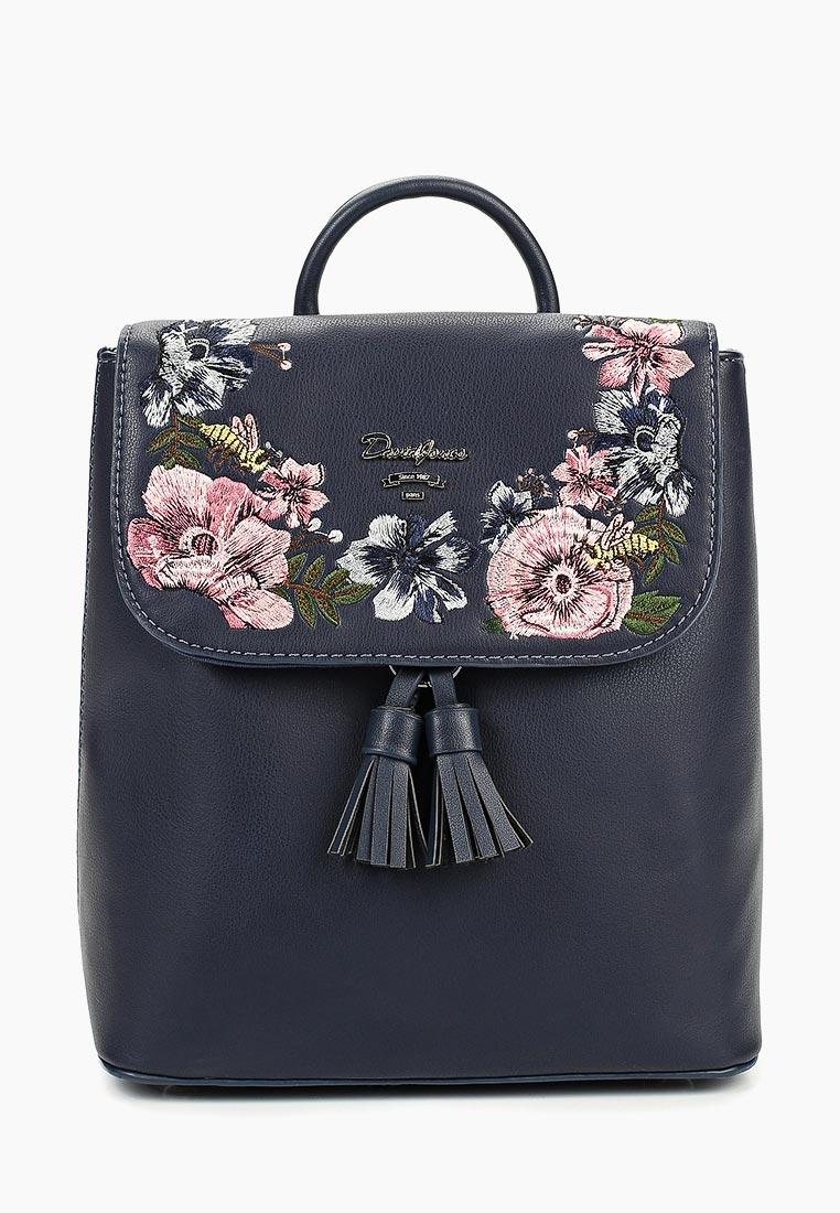 Городской рюкзак David Jones (Дэвид Джонс) 5862-3_синий