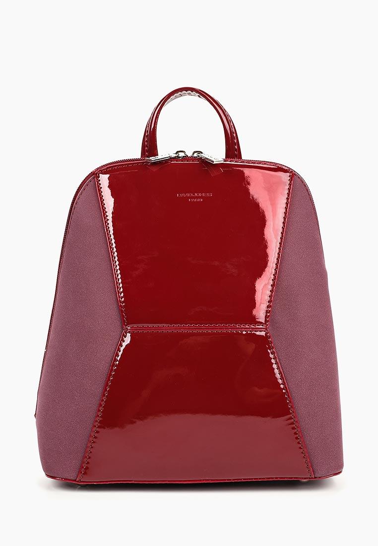 Городской рюкзак David Jones (Дэвид Джонс) 5832-2_бордовый
