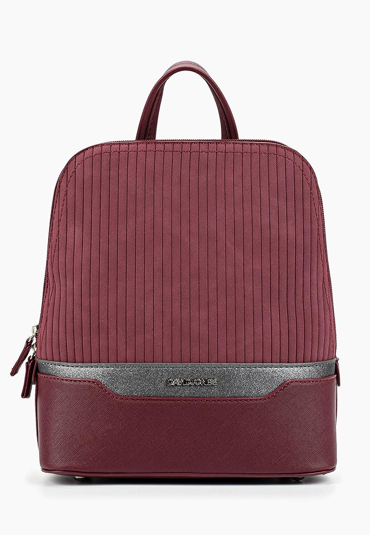 Городской рюкзак David Jones (Дэвид Джонс) 6103-2_бордовый