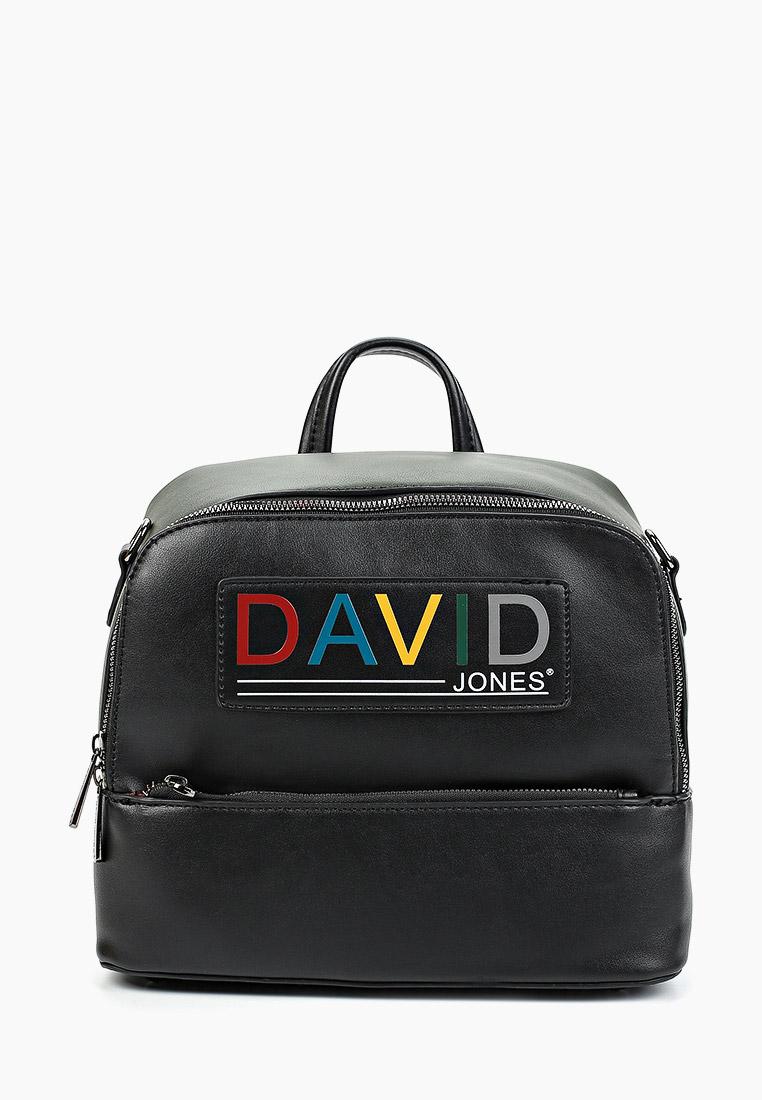 Городской рюкзак David Jones (Дэвид Джонс) 6138-3_черный