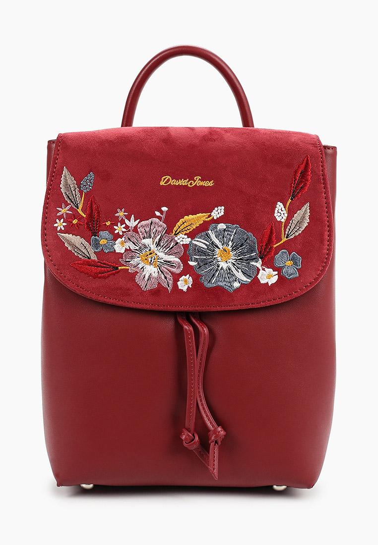 Городской рюкзак David Jones (Дэвид Джонс) 6141-4_бордовый