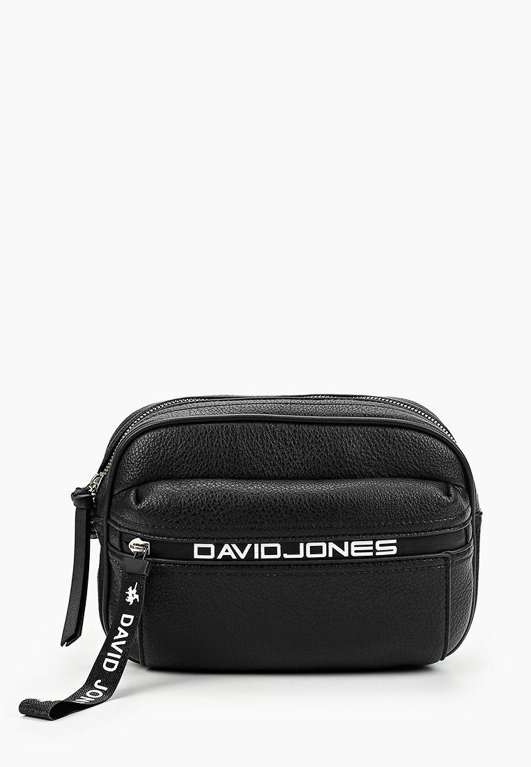 Сумка David Jones (Дэвид Джонс) 6166-2_черный