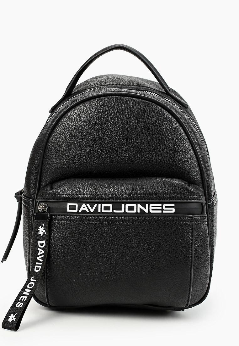 Городской рюкзак David Jones (Дэвид Джонс) 6166-3_черный