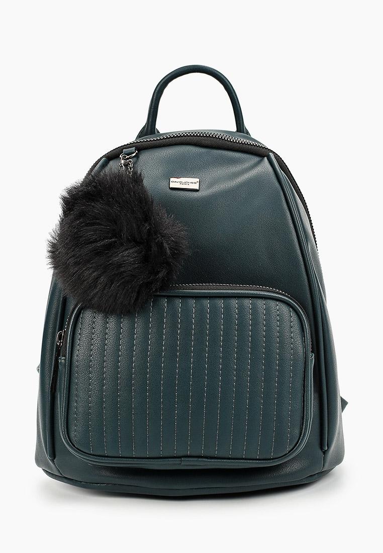 Городской рюкзак David Jones (Дэвид Джонс) CM5370_зеленый