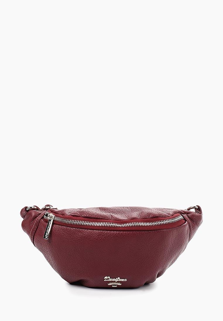 Поясная сумка David Jones (Дэвид Джонс) CM5314_бордовый