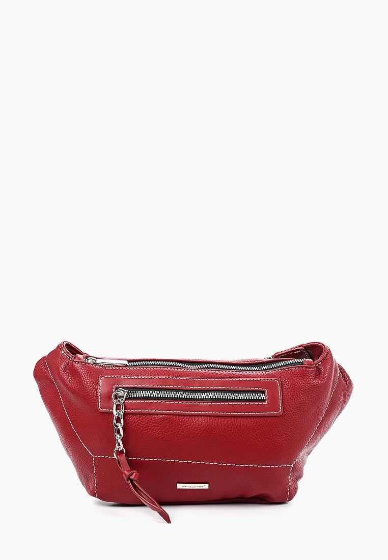 Поясная сумка David Jones (Дэвид Джонс) CM5407_красный