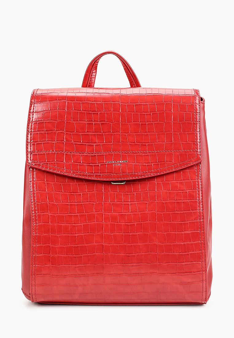 Городской рюкзак David Jones (Дэвид Джонс) 6148-3_красный