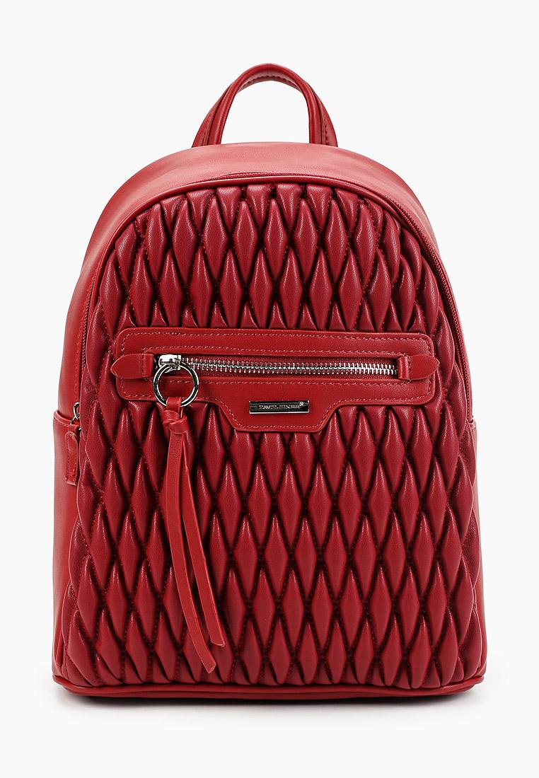 Городской рюкзак David Jones (Дэвид Джонс) 6152-4_красный