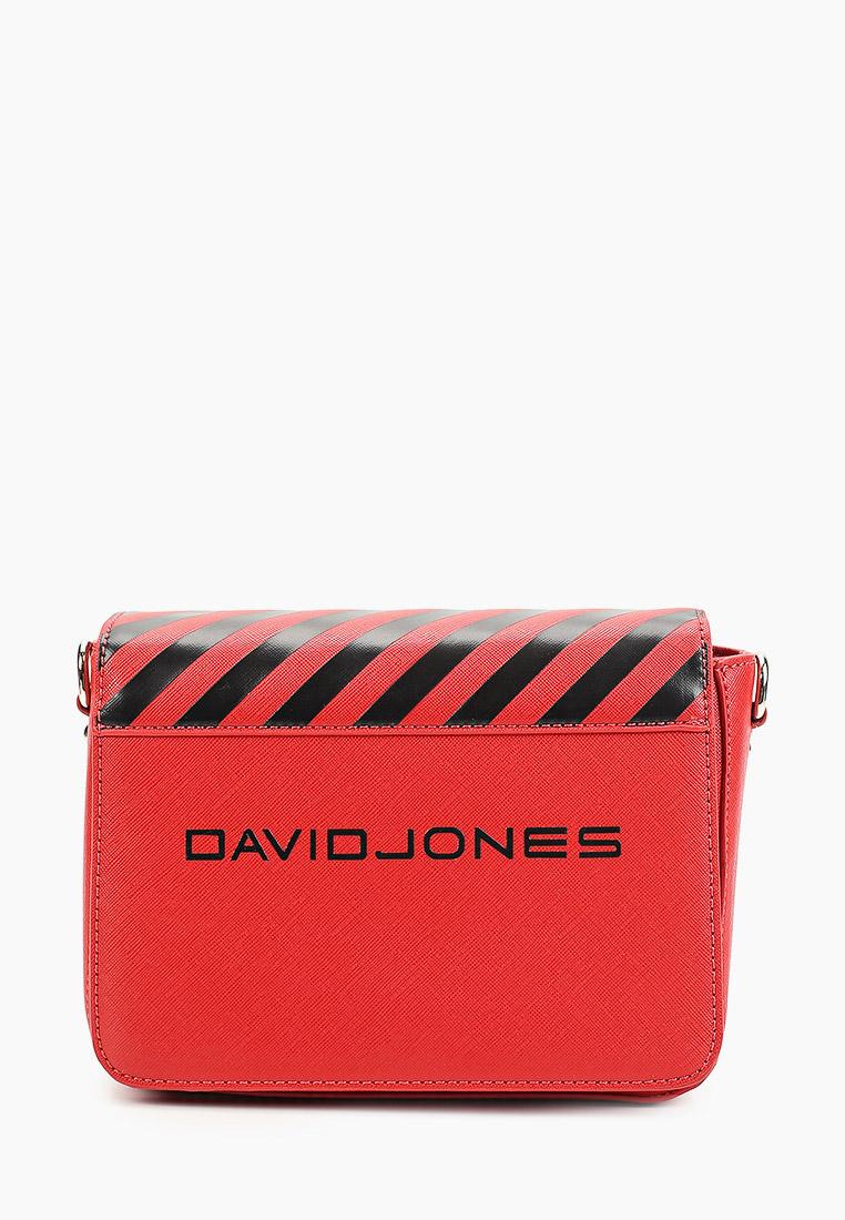 Сумка David Jones (Дэвид Джонс) 6169-2_красный