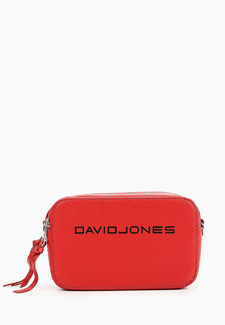 Сумка David Jones (Дэвид Джонс) 6169-1_красный