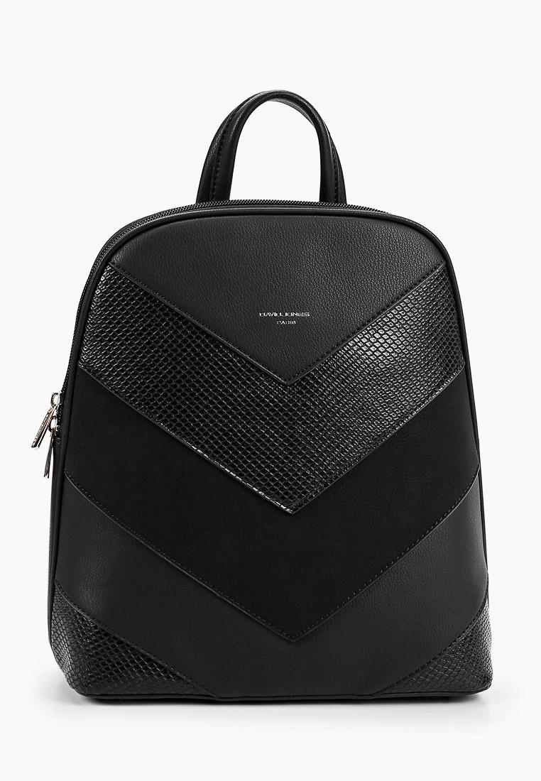 Городской рюкзак David Jones (Дэвид Джонс) 6203-2_черный