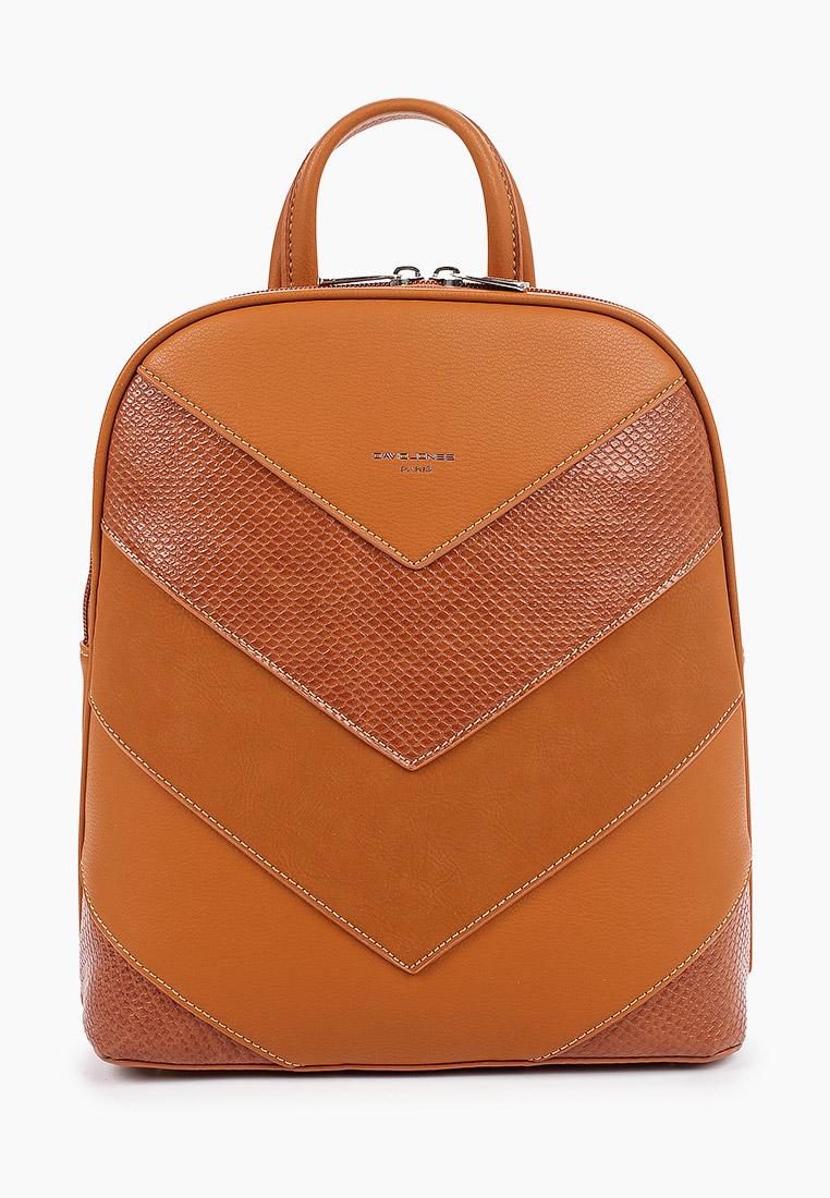 Городской рюкзак David Jones (Дэвид Джонс) 6203-2_рыжий